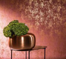 EUR 2,90/qm / Tapete Marburg Nabucco 58004 / Uni Struktur Metallic Rot Gold
