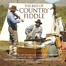 CD BEST OF COUNTRY FIDDLE BILL MONROE SKILLET LICKERS BOB WILLS TED GOSSETT ETC