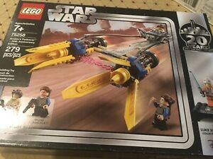 New Lego 75258 Star Wars Anakin's Podracer 20th Anniversary Edition