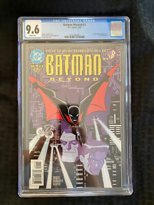 DC Comics Batman Beyond #1 1999 CGC 9.6 Fresh Case Back From CGC Today!!
