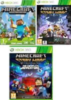 XBOX 360 Minecraft / Story Mode / The Complete Adventure - MINT - FAST DELIVERY