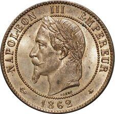 O1876 EXCEPTIONNELLE 10 Centimes Napoléon III 1862 A Paris FDC  !! ->Make offer