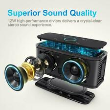 DOSS SoundBox Touch Portable Speaker 12W HD Audio Crystal Clear Bass Boost👌👌👌