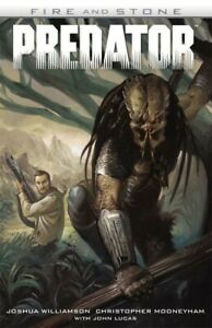 PREDATOR: FIRE AND STONE GRAPHIC NOVEL Dark Horse Comics Collects #1-4 TPB
