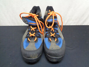 Answer Racing Cycling Shoes US 9-9.5 Blue Grey (HKY53-423)
