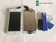 Iphone 5 5G BLANCO ENSAMBLADA Genuino OEM Calidad Digitalizador de pantalla LCD de repuesto