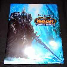 L'Arte di World of Warcraft-Wrath of the quanto King Art Book Artbook Nuovo