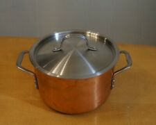 Calphalon Try-Ply Copper 6 qt. Stock Pot With Lid  8706