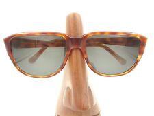 Vintage Carita 12215 005 Tortoise Square Aviator Sunglasses Frames Paris France