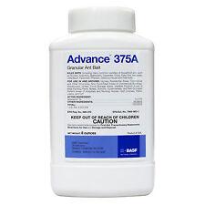8 oz Advance 375A Granular Pest Control Ant Bait ~ Carpenter Black Acrobat Crazy
