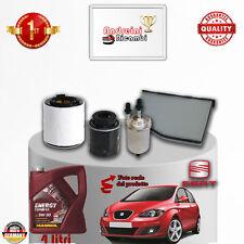Kit Inspección Filtros + Aceite Seat Altea 1.4 TSI 92KW 125CV 2007- >