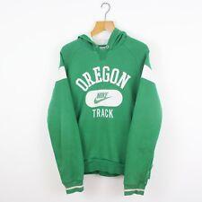 Vintage Nike Oregon Green Hoodie Sweat-shirt | Athletic Air Sport | Medium M