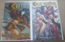 Shi Vs. Tomoe & Shi/Vampirella #1