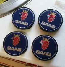 SAAB 9-3 9-5 Alloy Wheel Centre HUB CAP Trim Cover 12802437 93 95 60MM SET