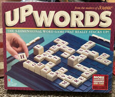 Scrabbles Upwords 3D Word Game ~ 10x10 grid 100 tiles 1997 MB Great Condition!!!