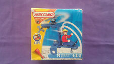 """Box Meccano City """"Helicopter"""" Réf.711062 Never Unpack All New 2002"""