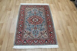 A Beautiful Handmade Persian Rug Floral Design 140 x 90 cm Hand Knotted Rug