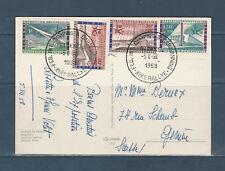 Eta/ carte  Belgique  exposition universelle de Bruxelles  1958