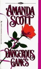 Dangerous Games by Amanda Scott (1996, Paperback)