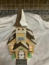 "Dept 56: New England Village: Sleepy Hollow: ""Sleepy Hollow Church"" #5955-2"