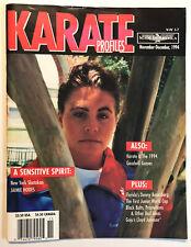 Karate Profiles Martial Arts Magazine November/December 1994 Shotokan Goju
