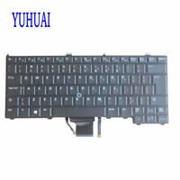 NEW FOR Dell Latitude 12 12-7000 E7440  E7240 Backlit Pointer UI Keyboard