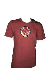ADIDAS Colombia National Team Crest Men's Go To Performance T-Shirt Sz: S -989