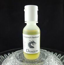 Men's DRAGON Smoke Beard Oil, Campfire Sample .5 oz Conditioner Natural Hair Oil