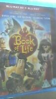 The Book Of Life (3D Blu-Ray + Blu-ray) Diego Luna   Channing Tatum NEW & SEALED