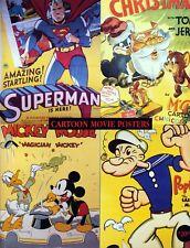 Blitz wolf Tex Avery cult movie cartoon poster print