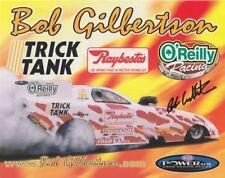2003 Bob Gilbertson signed Raybestos Chevy Camaro Funny Car NHRA postcard
