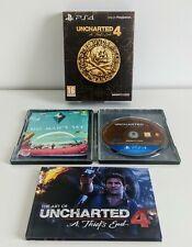 Uncharted 4 un ladrón's End Steelbook edición especial limitada PS4 ** Free UK Post **