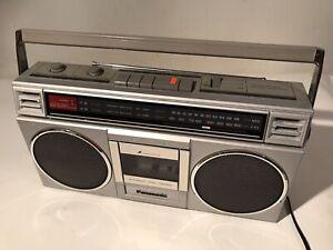 PANASONIC RX-4920 Cassette AM/FM Radio Boombox Japan EVERYTHING WORKS 1980s