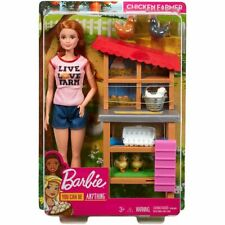 Barbie Career Chicken Farmer Doll & Playset - You Can Be Anything *Restock