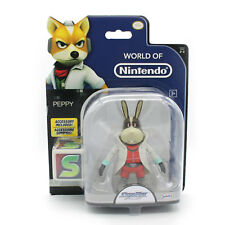 World of Nintendo PEPPY 4 Inch Figure StarFox Jakks Pacific W8 Series 2-3 - New