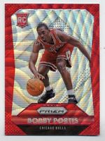 2015-16 Panini Prizm BOBBY PORTIS Rookie RC RUBY RED WAVE REFRACTOR #/350 Bulls