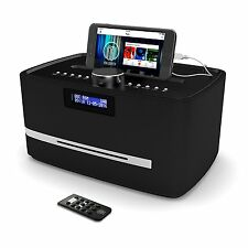 Majority DAB FM Radio CD Player Alarm Clock With Bluetooth Micro HiFi System