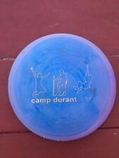 Camp Durrant Blue Frisbee Golf Disc