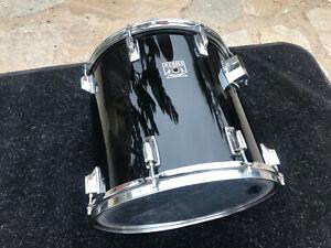Tama Superstar BLACK 1980's 15x14  Tom Drum