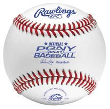 Rawlings Raised Seam Baseballs, Pony League Competition Grade Baseballs, Box of