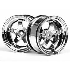HPI 3591 Work Meister S1 Wheels 26mm chrome 3mm Offset (2)