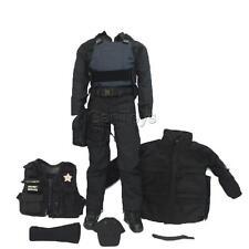 "1/6 SWAT Police Uniform Suit Accessories For 12"" Hot Toys BBI Action Figures"