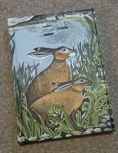 Angela Harding Rathlin Hares Harback Notebook A5 Brand New