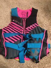 Body Glove Phantom Neoprene Life Vest for Ladies - Pink/Aqua Size Medium
