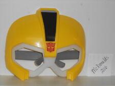 Vtg. 2016 Promo Kids Meal Burger King: Transformers Yellow Mask