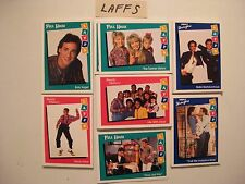 1991 LAFFS - FULL 80 CARD BASIC SET(FULL HOUSE,FAMILY MATTERS,PERFECT STRANGERS)