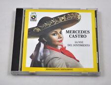 CD-Mercedes Castro: la voz del sentimiento – Musique