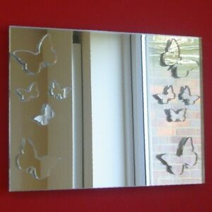 Butterflies Rectangular Mirrors (Shatterproof Safety mirrors, Several Sizes)