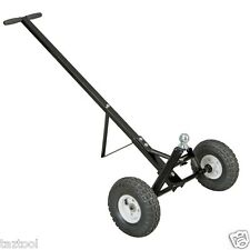 """600lb Heavy Duty Utility Trailer Dolly with hitch ball and 10"""" air tires towing"""