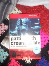 dvd patti smith- dream of life usato con libro ottimo stato raro